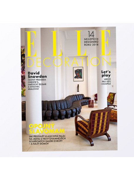 Aktuální vydání Elle Decoration 1/2019 (poštovné zdarma)