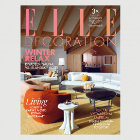 Aktuální vydání Elle Decoration 4/2019 (poštovné zdarma)