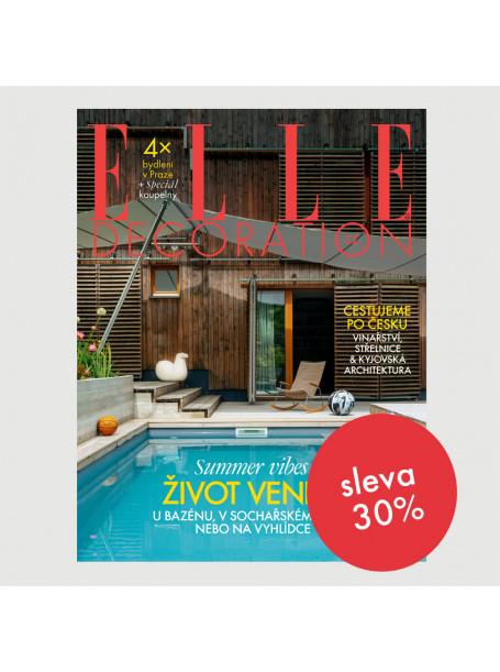 Roční předplatné ELLE Decoration (4 vydání) se slevou 30%