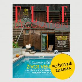 Aktuální vydání Elle Decoration 2/2020 POŠTOVNÉ ZDARMA (pouze pro ČR)