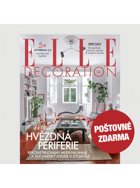 Aktuální vydání Elle Decoration 3/2020 POŠTOVNÉ ZDARMA (pouze pro ČR)