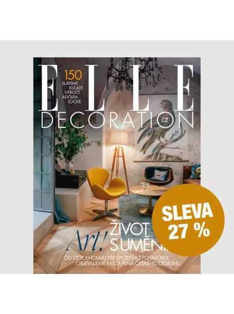 Roční předplatné ELLE Decoration (4 vydání) se slevou 27 %