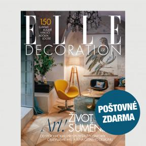 Aktuální vydání Elle Decoration 4/2020 POŠTOVNÉ ZDARMA (pouze pro ČR)