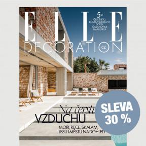 Předplatné ELLE Decoration (6 vydání) se slevou 30 %