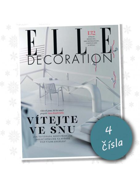 Roční předplatné ELLE Decoration (4 vydání)